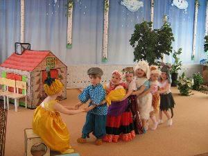 Спектакль Репка в детском саду