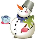 Жил да был Снеговичок!