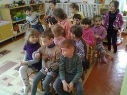 игровое занятие с детьми
