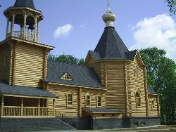 Храм в городе Шарья