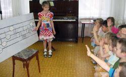 Формирование первоначальных звуковысотных и ладовых представлений у старших дошкольников