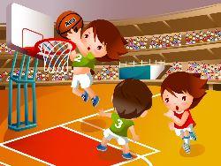 Формирование действий с мячом у детей дошкольного возраста при обучении игре в баскетбол