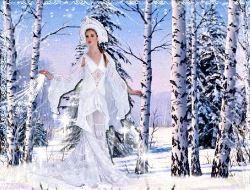 Красавица Зима в гости к нам пришла