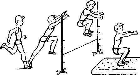 Прыжки в высоту с разбега