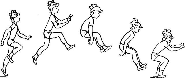 прыжок в длину с разбега