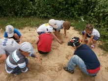 дети ищут клад