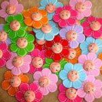 цветы из различных материалов