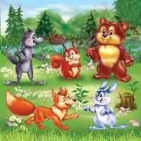 Сказка «Лесные друзья»