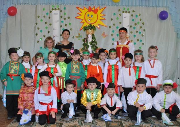 Старшая группа детского сада