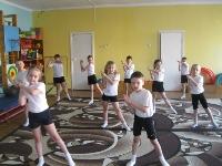 Конспект занятия по физкультурес детьми подготовительной группы детского садас использованием технологии Са-Фи-Дансе