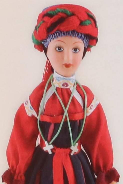 Традиционный женский  костюм Тульской губернии XIX в.