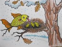 небылица. рыбы в гнезде