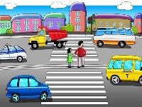 дорожное движение на улице