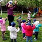 физподготовка детей на прогулке