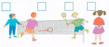 играют в теннис